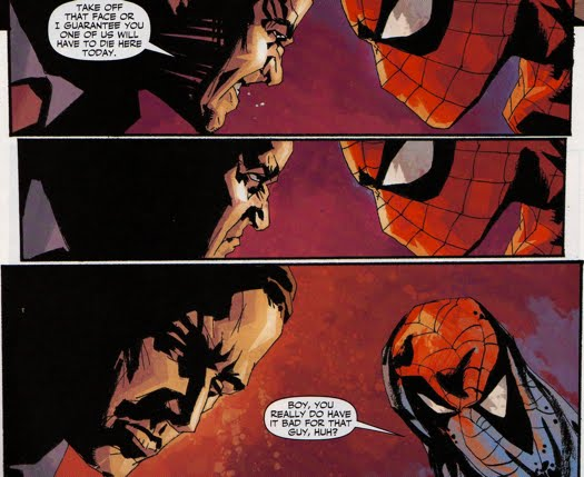 Spider-Man throughout Norman's Dark Reign - The Green
