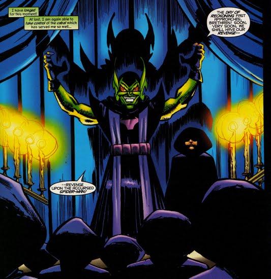 Peter Parker the Goblin Heir - The Green Goblin's Hideout