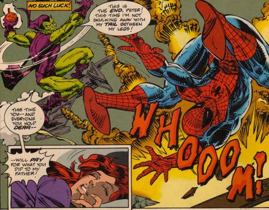 Harry Osborn, Green Goblin II - The Green Goblin's Hideout
