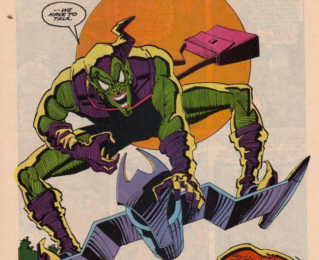 harry osborn green goblin ii the green goblin s hideout